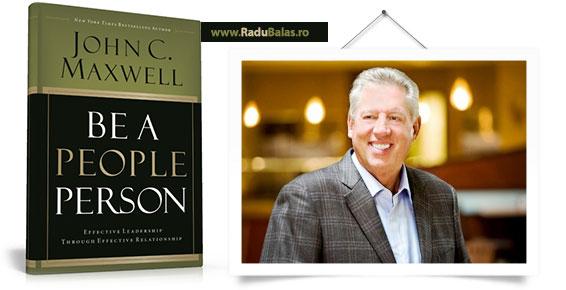 Poza cu Cartea Be a People Person - John Maxwell.