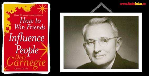 Poza cu Dale Carnegie si How to Win Friends.