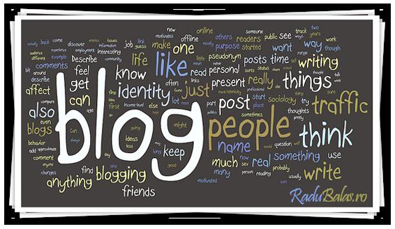 De ce blogul Radu Balas
