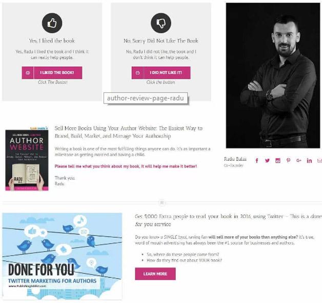 Publishing Addict feedback